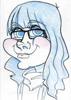 Caricature of ME by Kauritsuo