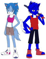 .:PC:. Blue Sibling by Ruezvel