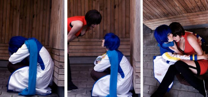 There there, Kaito by BabbuCosplay