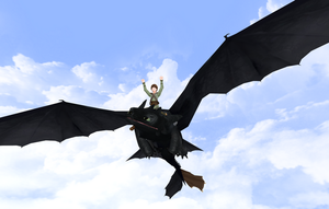 Toothless DL by RandomDraggon