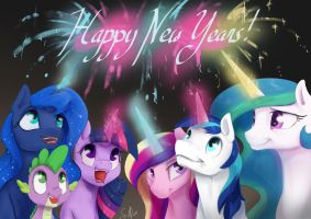 Happy New Years! by SilFoe