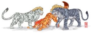 Tigers by ByoWT1125