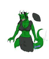 Green Witch DragonTF by Dragon-Storm