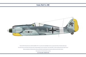 Fw190A4 JG2 4 by WS-Clave