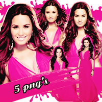 Pack png 120 Demi Lovato by MichelyResources