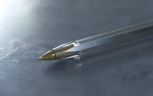 Bic pen 3D model (subdiv) C4D by amaurysk8