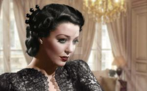 Loretta Young by Cspringer