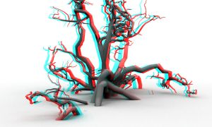 Another creepy anaglyph by mrkane27