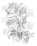 Beast Heads by stablercake