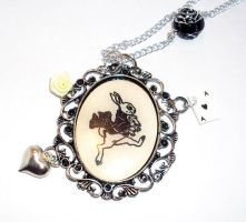 Down the Rabbit hole necklace by lovecute