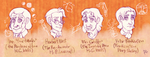 Characters of Literature: Scientists by Fenix-Acuarelado