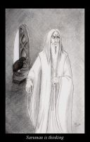 Saruman is thinking by The-Black-Panther