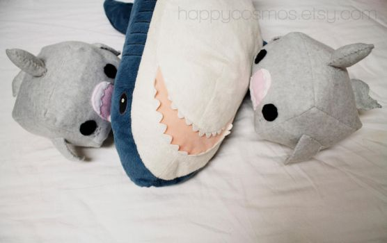 Plushie: Shark Attack! by CosmiCosmos