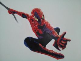 Spiderman by ScrageArt