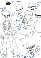 HeartBreak - Sans Ref Sheet by SakuraFaith