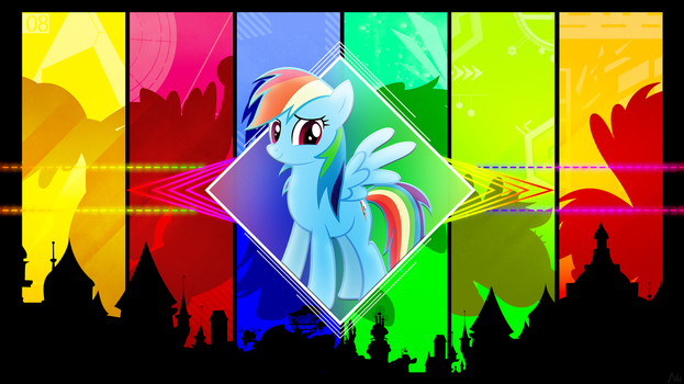 Color of Life - Wallpaper (Revived!) by AntylaVX