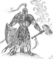 Norse High Warrior by RomanEdge