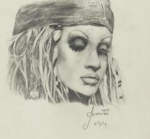 Christina Aguilera by JaidenIV