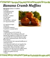 Banana Crumb Muffin Recipe by musiquelle