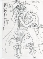 Takeda Shingen normal god by Sengoku-no-Tensou