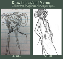 Before After Meme With Handmaid by umbrenox