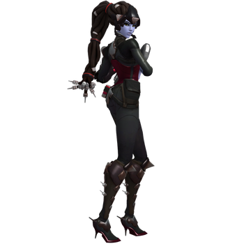 Widowmaker Noire On Patrol Pose Pack by PwN3Rship