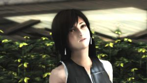 MMD In Spring,With you Final Fantasy Tifa VIDEO by Terrasucre