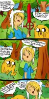 Aventure Time cap 2 by silviahung