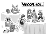 Ghibli Party - Welcome, Howl by alamedyang
