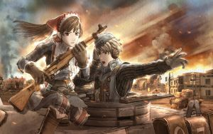 Valkyria Chronicles Wallpaper by RoninHellAngel