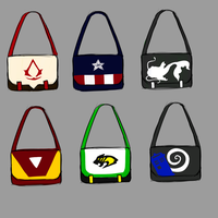 Concepts: Messenger Bags by CheleKat