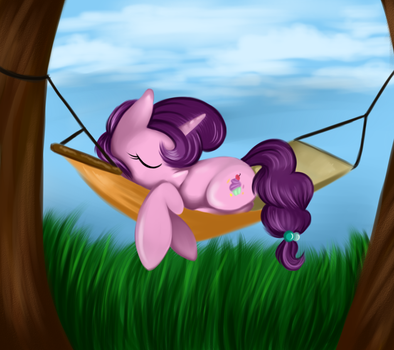 Sugar Belle's Peaceful Place by LCpegasister75