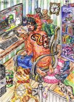 The Room of Awesomeness by visaga