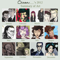 2012 ART SUMMARY by monkette