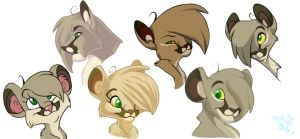 Cougari Various Style Changes by nanook123