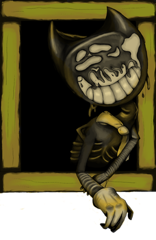 Bendy Says Hello by goombablood