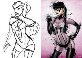 From Sketch to Color by Sno2