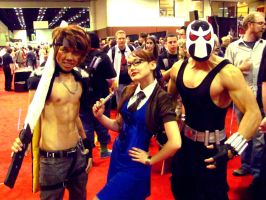 Kiba, Mad Mel Madigan, and Dave Spidey by DuysPhotoShoots
