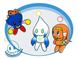 Character CHAO! #93-98 by Reallyfaster