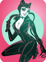 Catwoman by babsdraws