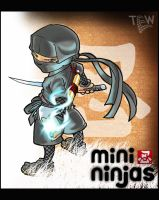 Mini Ninjas by tew-tew