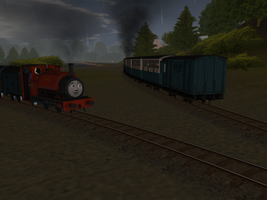 Rainy Morning on the Skarloey Railway, Part 1 by wildnorwester
