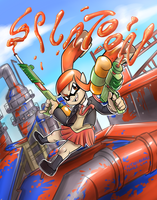 Splatoon Contest Entry by Anaugi