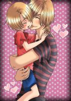 Izumi y Shougo (Love Stage) by Rojithaaax