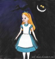 Alice In Wonderland by miki-chaan