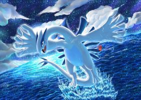 :FA: Crystal Lugia HoloFoil Ver by AoronQinG