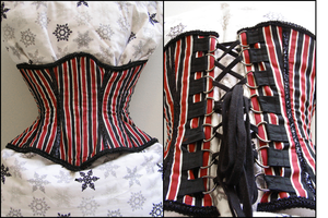 Striped Corset by emiko42
