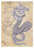 snake tattoo version 2 by the-taste-of-blood