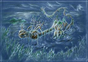 Baffin - the Swamp Dragon by Fany001