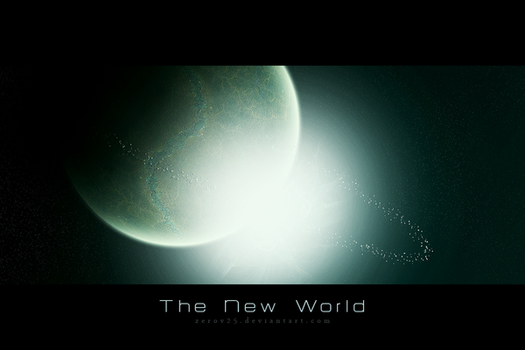 The New World by ZeroV25